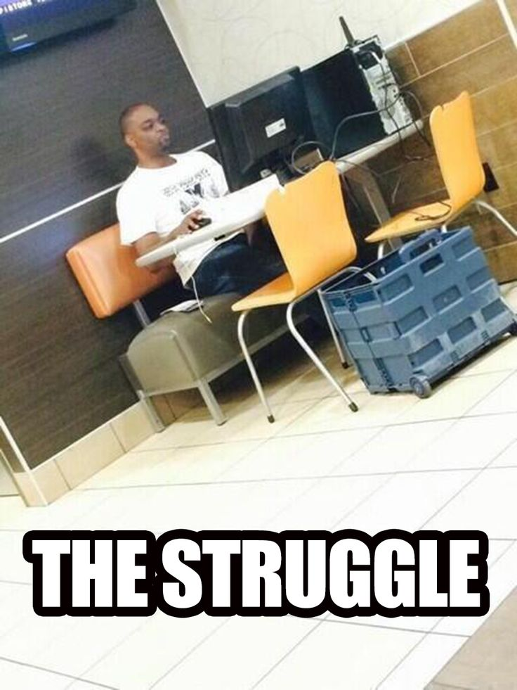 Sometimes You'll do Anything for Free WiFi (haha...sad but true)