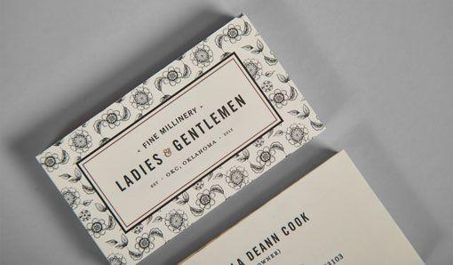 Ghost: Ladies & Gentlemen Identity and Stationery - design work life