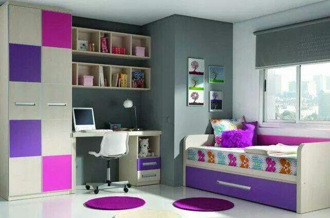 M s de 17 ideas fant sticas sobre reas de estudio para - Ideas habitacion juvenil ...