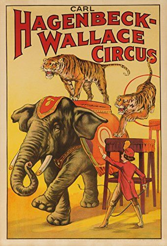 25 best ideas about circus elephants on pinterest for Circus posters free