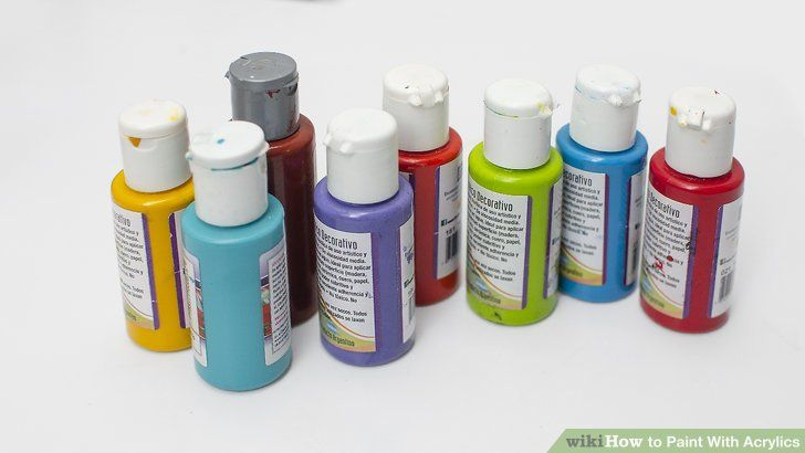 How To Paint With Acrylics In 2020 Painting Acrylic Illustrations And Posters