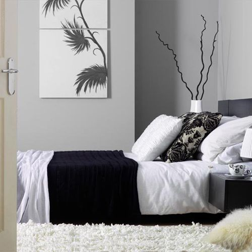 black  white and grey bedroom color scheme. 17 Best images about Bedroom Color Schemes on Pinterest   Blue and