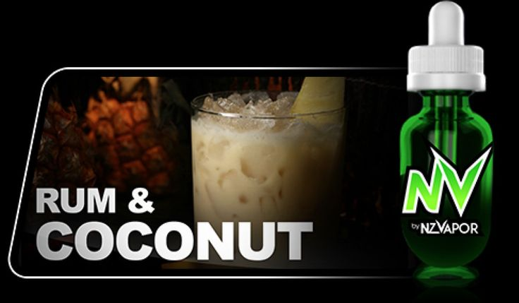 Rum and Coconut NV Juice has a beautiful, fruity aroma and a balanced, long finish rum flavour with delicious, complex notes of vanilla dark chocolate and caramel. The coconut after taste is full and refreshing, delivering the sweet taste of the islands with each vape.  All products in the NV JUICE range are designed to offer the highest vapour production available.