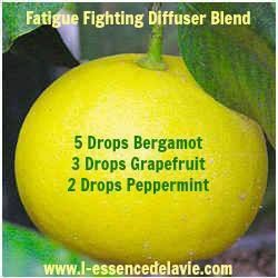 Feeling too tired to face Monday? Don't let the weekend impact your week. Here's a great blend to help fight that fatigue. If you don't have a diffuser, you can make this as an inhaler with a blank aroma stick or just put a drop of each oil on cotton ball or tissue and inhale that. Either way, you're ready to take on the new week!