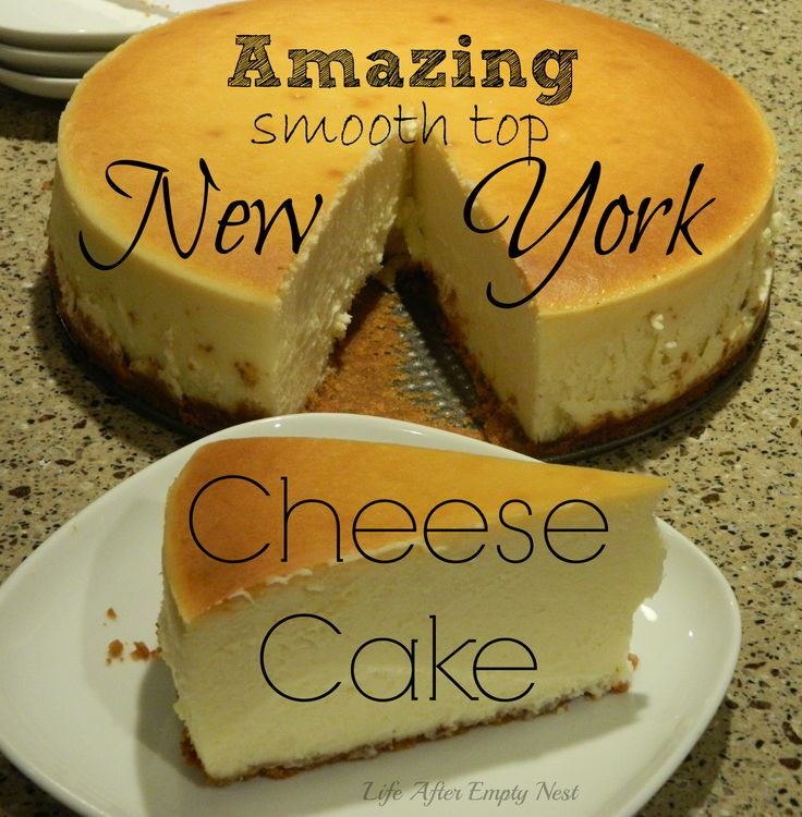 Create this Amazing Crack-less New York Style Cheesecake