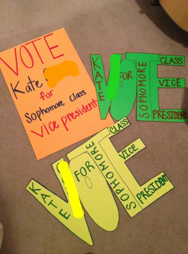 Classroom Election Ideas ~ Class election poster officer elections pinterest