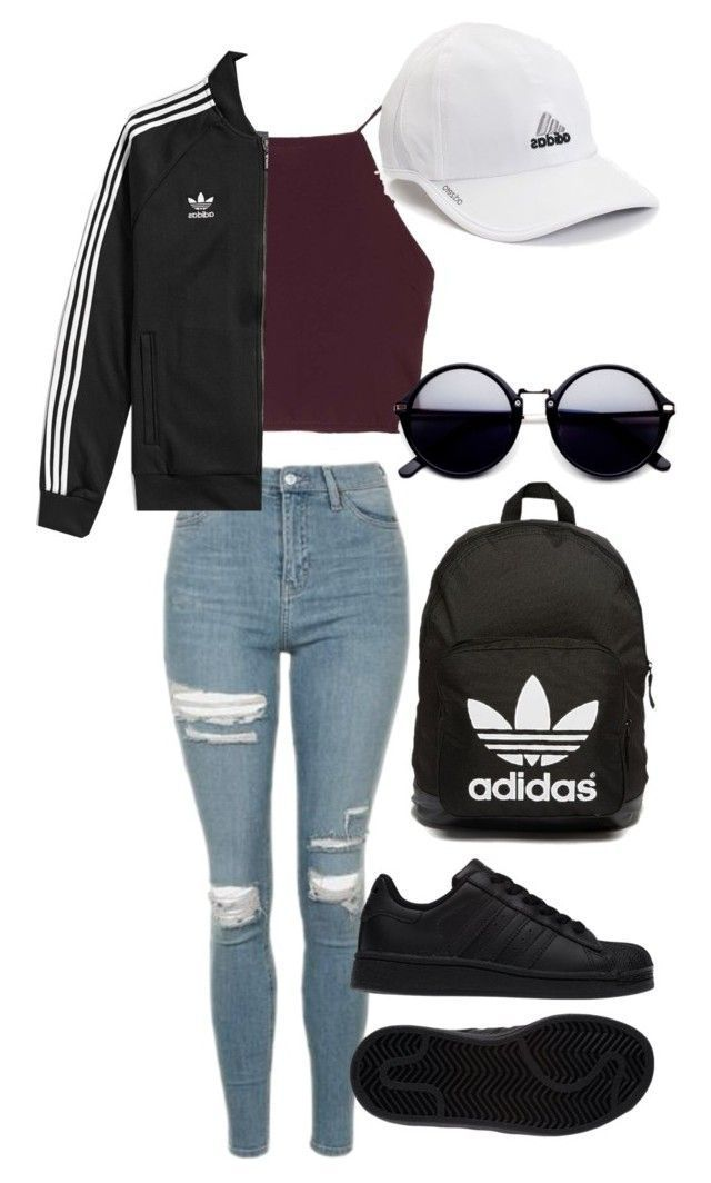 """Untitled # 576"" by aya-omar ❤ is popular with Polyvore, including Topshop, adidas and adidas Originals"