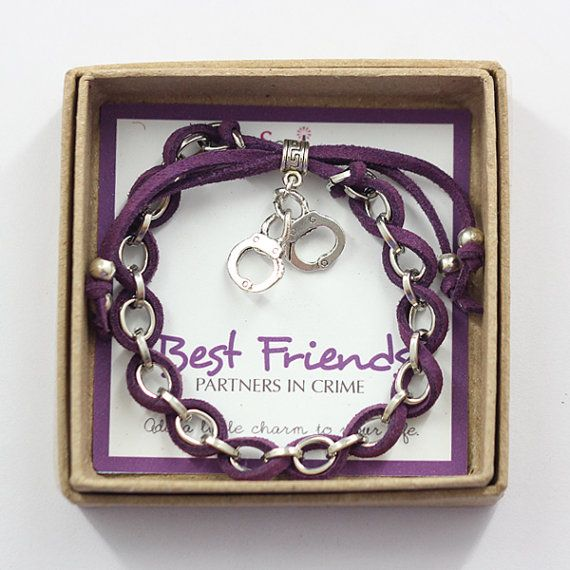 Hey, I found this really awesome Etsy listing at https://www.etsy.com/listing/153254597/best-friends-partners-in-crime-purple this is a must for my bffffffffs birthday!
