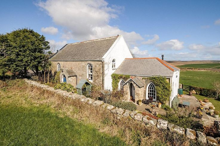 WESLEYAN CHAPEL AND SUNDAY SCHOOL | Sancreed, Cornwall: 'Believed to date to 1886. It has been sympathetically renovated into a three / four bedroom family residence.' Sold July 2015. ✫ღ⊰n