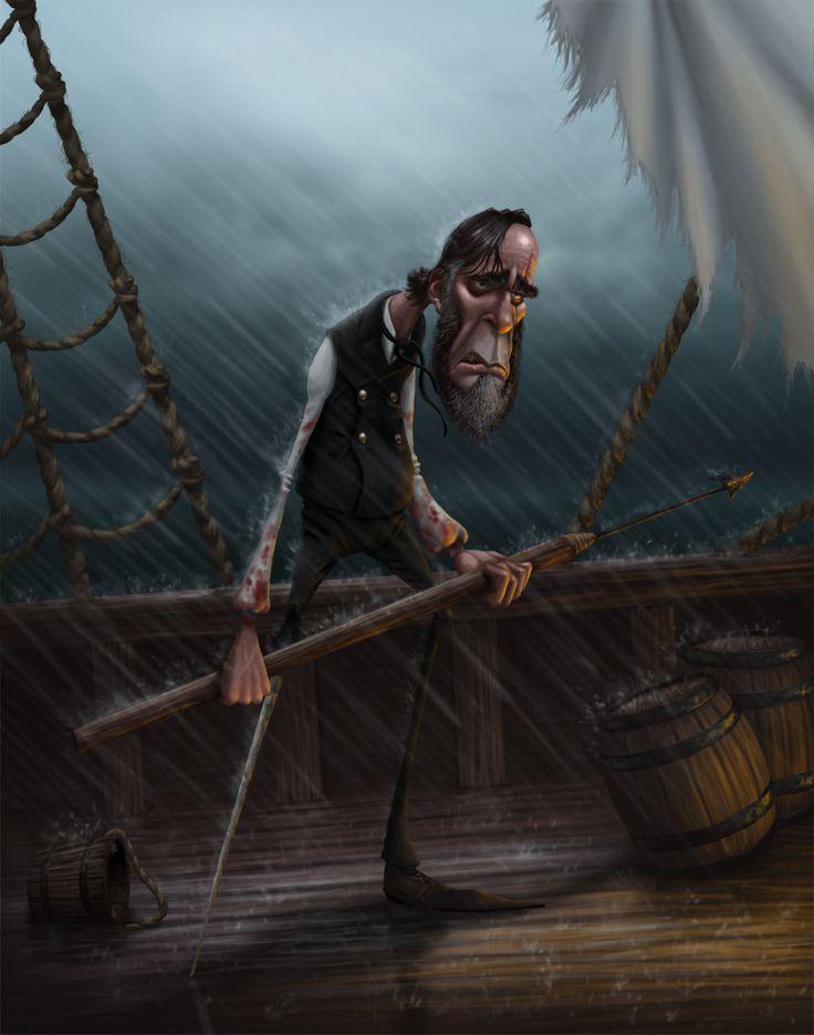 """Captain Ahab"" by Gregory Hartman."