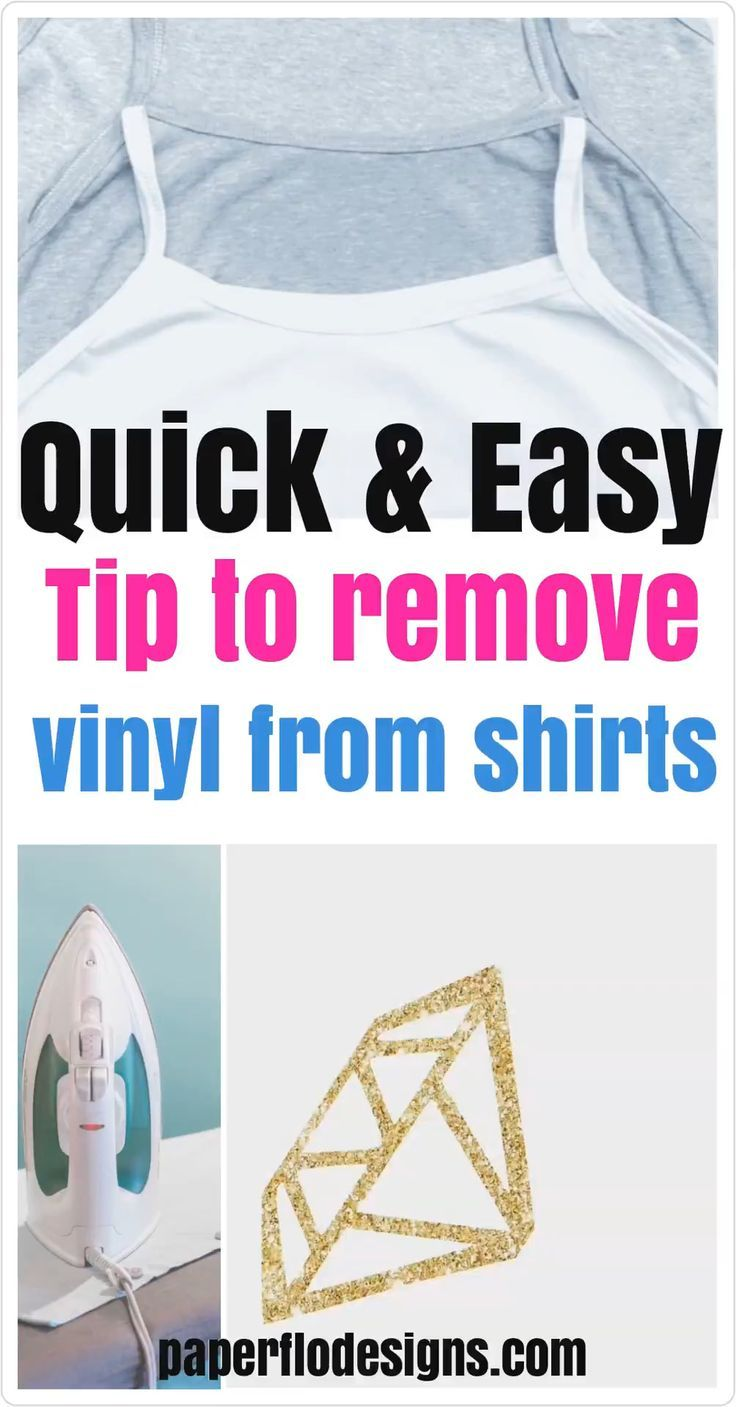 How to remove print from tshirts cricut tutorials