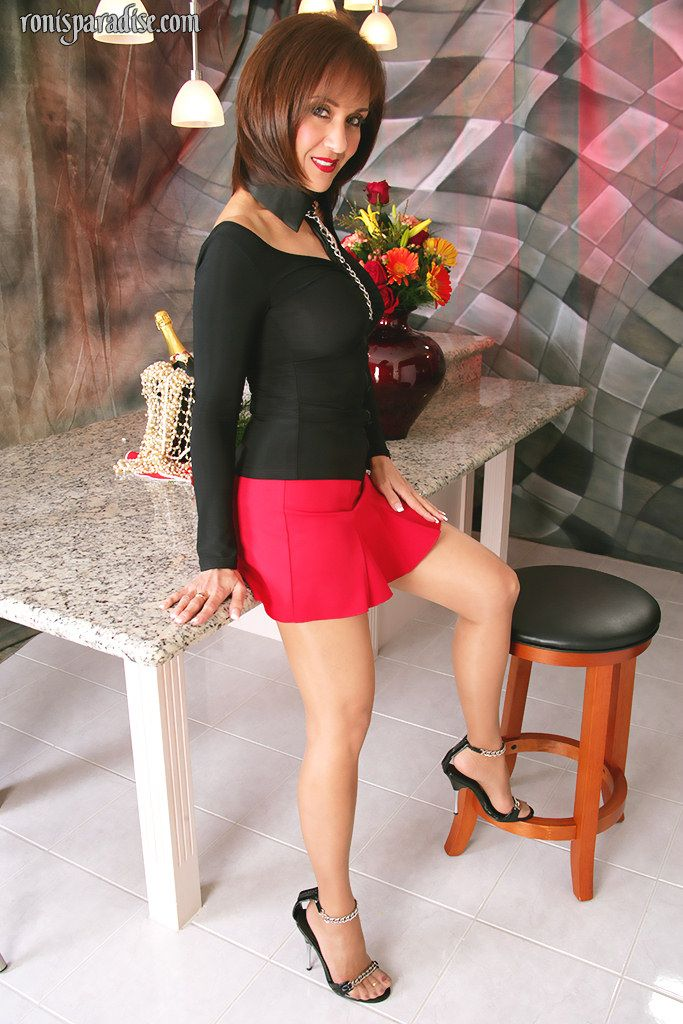 In Pantyhose Roni Teases 114