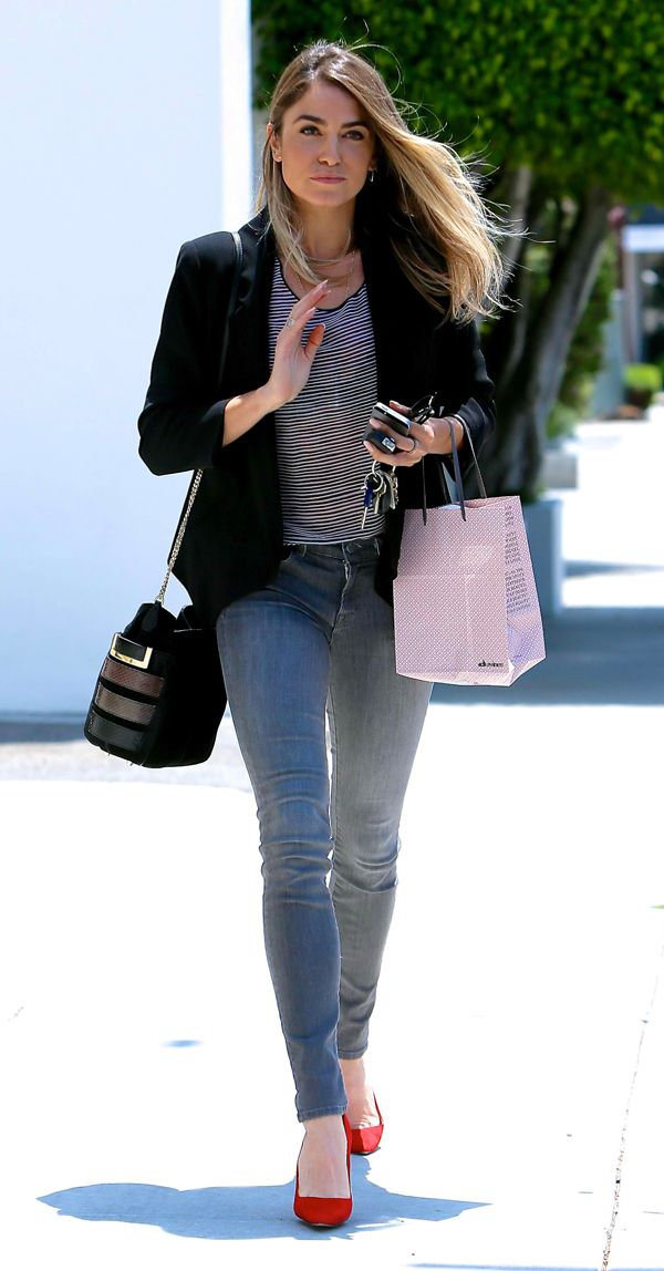 Nikki Reed spotted leaving Andy LeCompte Salon in May 23, 2014