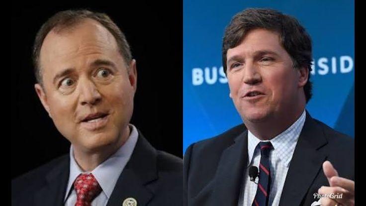 YOU'RE SO DUMB!!! Tucker Carlson OBLITERATES Adam Schiff In A Heated Con...