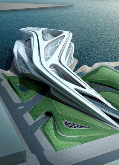 Museum & Performing Arts Centre, Abu Dhabi #pin_it @mundodascasas see more here: www.mundodascasas.com.br