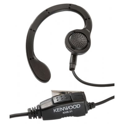 $30.07 Kenwood KHS-31 C-Ring Earpiece With Inline PTT Switch