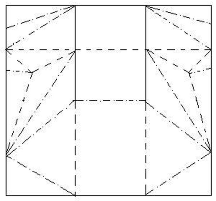 Unos cuantos pliegues transforman una tira de cart n en - Como se tapiza una silla paso a paso ...
