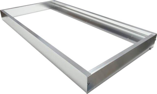 RAMA MONTAJ APLICAT PANOU LED 30X60CM este utila in a monta un corp iluminat de 30 x 60 cm prevazut a fi incastrat, dar pentru care nu exista o astfel de posibilitate de instalare se opteaza pentru a se monta aplicat.