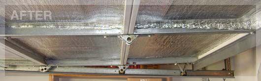 (After) Garage Door Insulation
