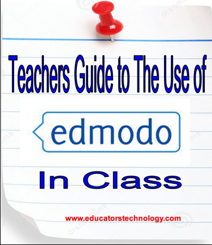 All The Resources Teachers Need to Start Using Edmodo in Class