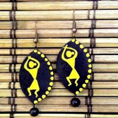 Cute terracotta earrings