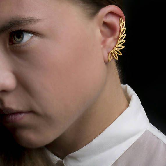 Αυτί σφαλιάρα earringsClimbing earrings925 μασίφ ασήμι