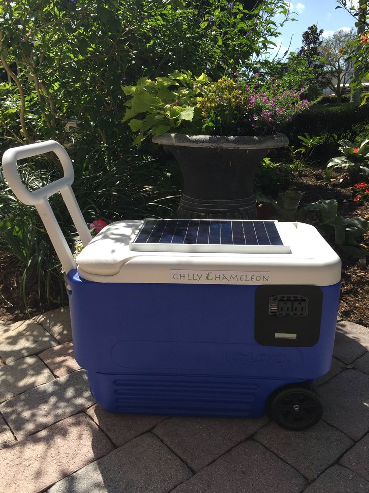 Chilly Chameleon (Portable Solar Generator) (#QuickCrafter)