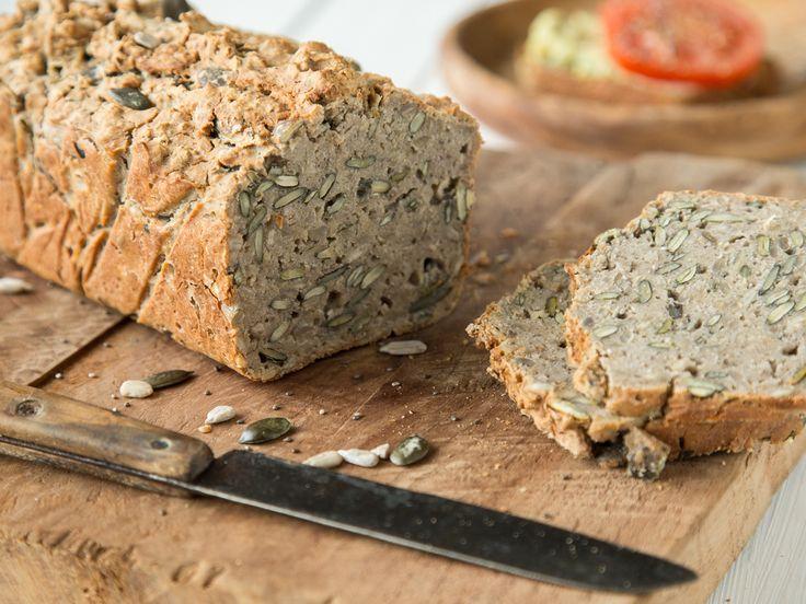 Glutenfreies Superfood-Brot mit Chia-Samen