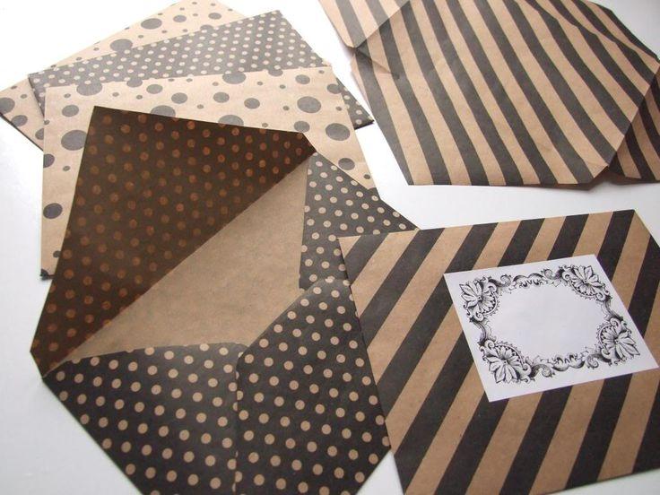 Making Envelopes - Gathering Beauty