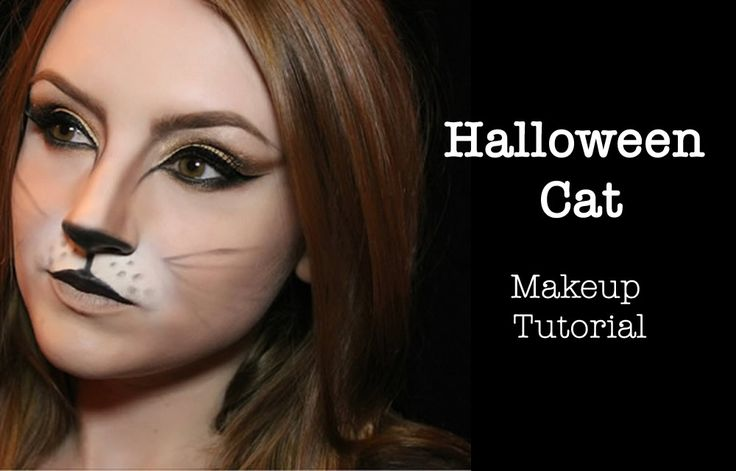 Halloween Cat Makeup Tutorial. by Laura Kay WHAT YOU'LL NEED Foundation Concealer (2-3 shades lighter than your skin tone) Eyelid Primer Eyebrow Powder or Pencil 4 Eyeshadows - a highlig. Make Up & Skincare, Style posts on Her City Lifestyle