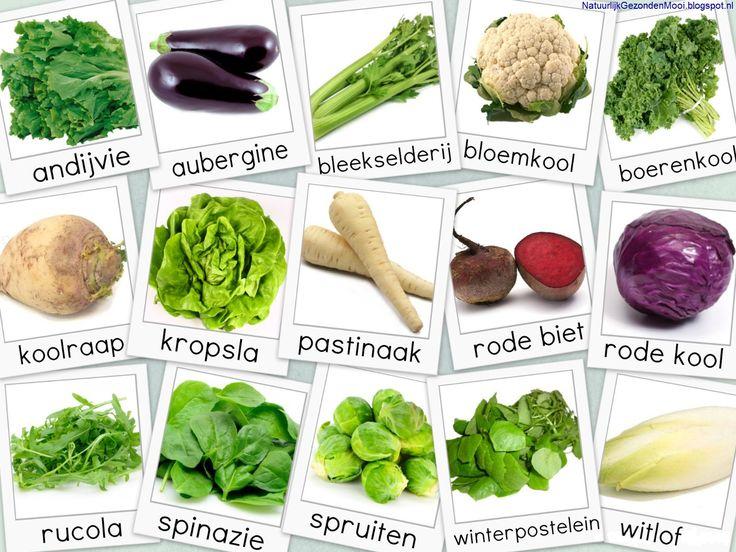 Natuurlijk Gezond en Mooi: Groente- en fruitkalender februari