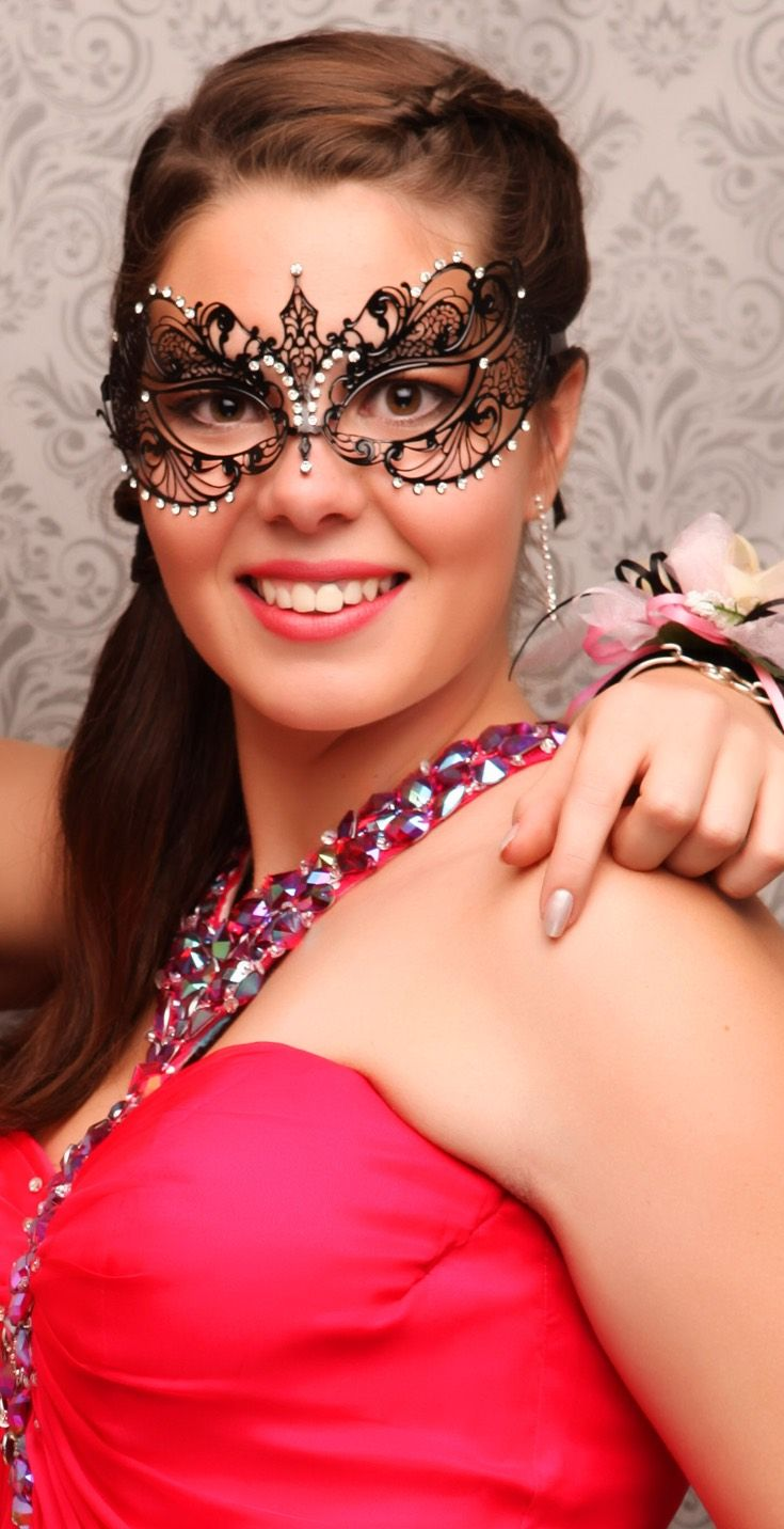 Strathallan Ball 2015. Gorgeous mask! www.whitedoor.co.nz