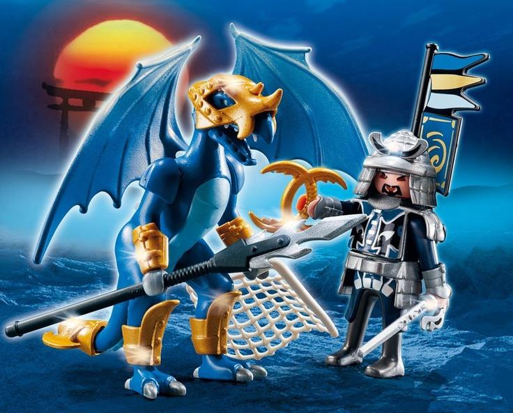 Blue dragon - Asian warriors bag