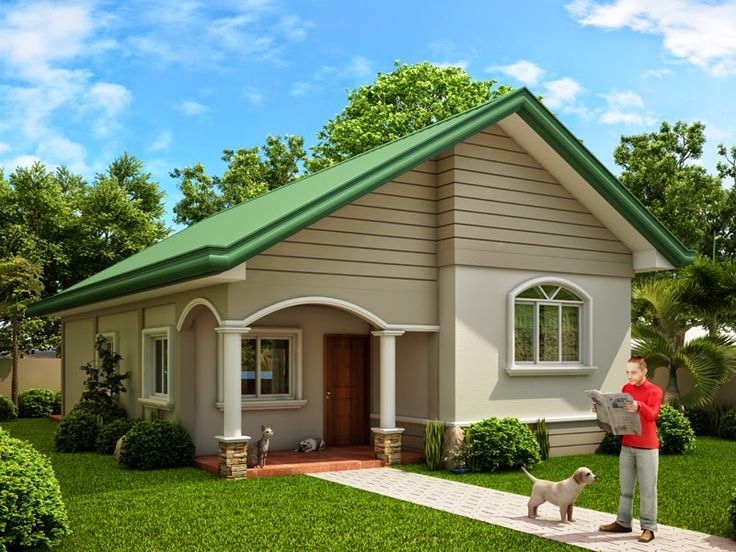 Thoughtskoto 15 beautiful small house designs small for Small house exterior design philippines