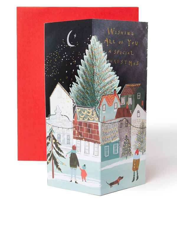 Pop Up Christmas Charity Card For All Of You Luxury Christmas Cards Christmas Cards Greeting Card Packs