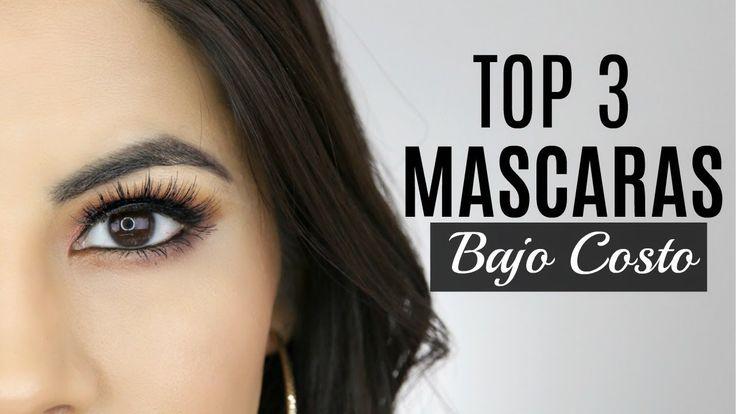 LAS 3 MEJORES MASCARAS DE PESTAÑAS DE BAJO COSTO 2017 | Makeup by Michela - YouTube