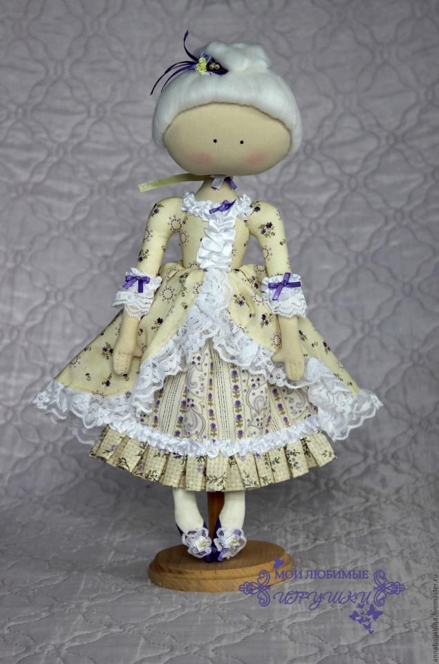 Текстильная кукла Адель. мастер класс