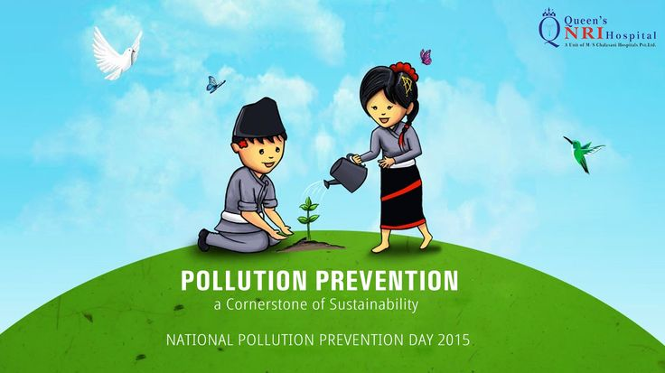 National Pollution Prevention Day - 2015  For more info visit: www.queensnrihospital.com || Dial: 99662 56981
