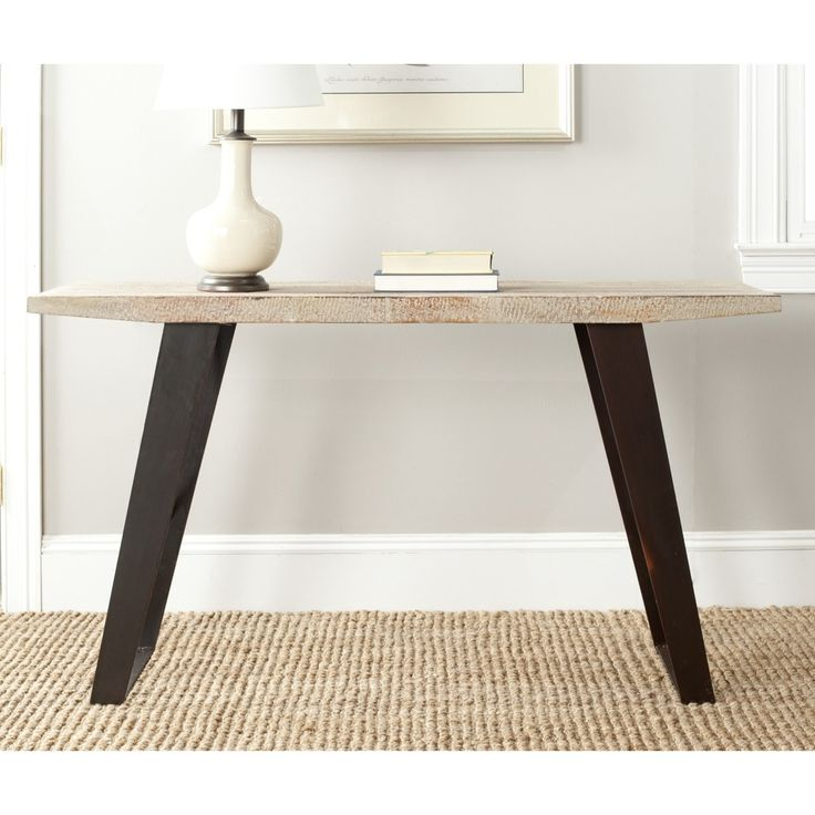 Safavieh Waldo Natural Console Table | Overstock.com Shopping   Great Deals  On Safavieh Coffee