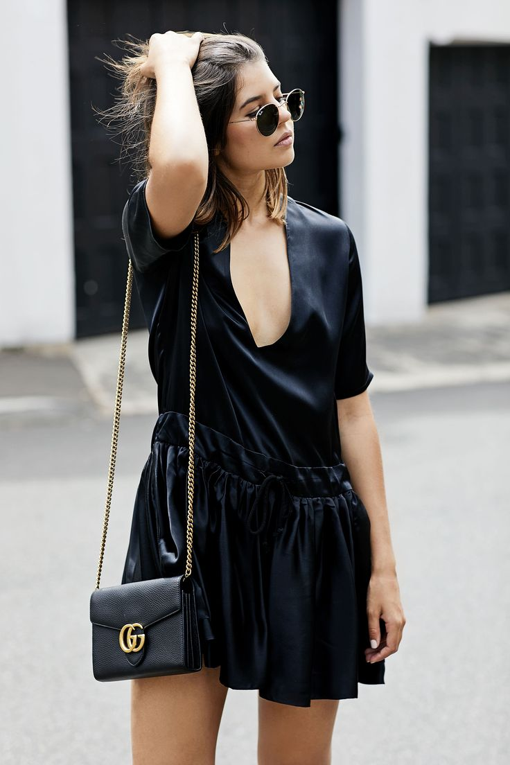 The Easy Black Mini Dress — BADLANDS