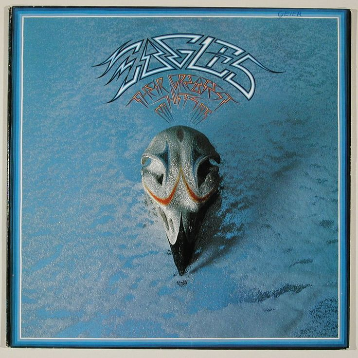 the eagles album cover | 101.589: Eagles, Their Greatest Hits: 1971-1975 | record ...