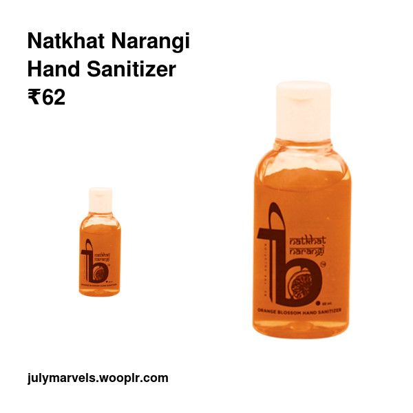 Natkhat Narangi Hand Sanitizer Hand Sanitizer Good Skin Skin Care