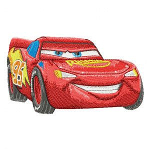 Shoply.com -Cars Lightening McQueen Machine Embroidery Design in 4 sizes - MUST SEE. Only $3.99
