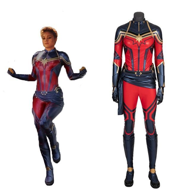 New Arrival Avengers 4 Endgame Captain Marvel Carol Danvers Cosplay Costume For W Captain Marvel Costume Captain Marvel Carol Danvers Ms Marvel Captain Marvel And don't need processing time. captain marvel costume