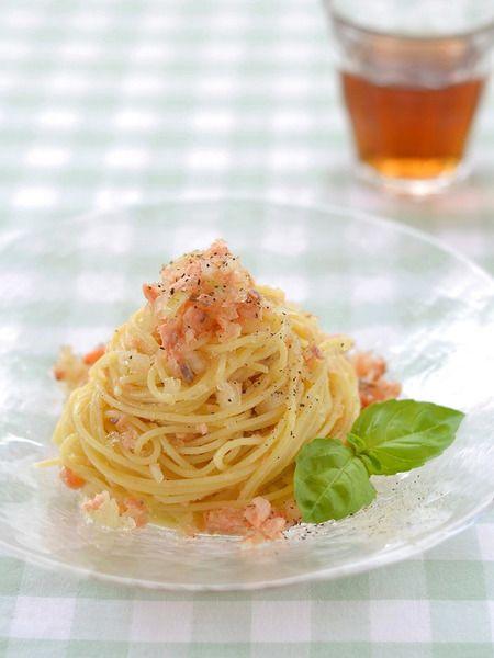 キラキラサーモンの冷製スパゲッティ by 西山京子/ちょりママ / レシピサイト「Nadia   ナディア」プロの料理を無料で検索