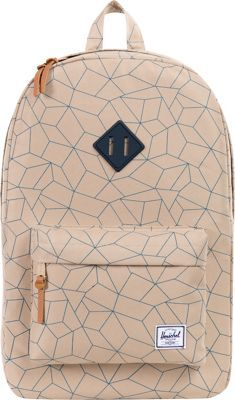 Herschel Supply Co. Heritage Laptop Backpack Khaki Sequence - via eBags.com!