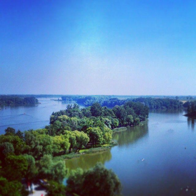 Kruszwica, Mysia Wieża view #kruszwica #poland #polska #mysiawieza #mousetower #travel #view #viewpoint #goplo #goplolake