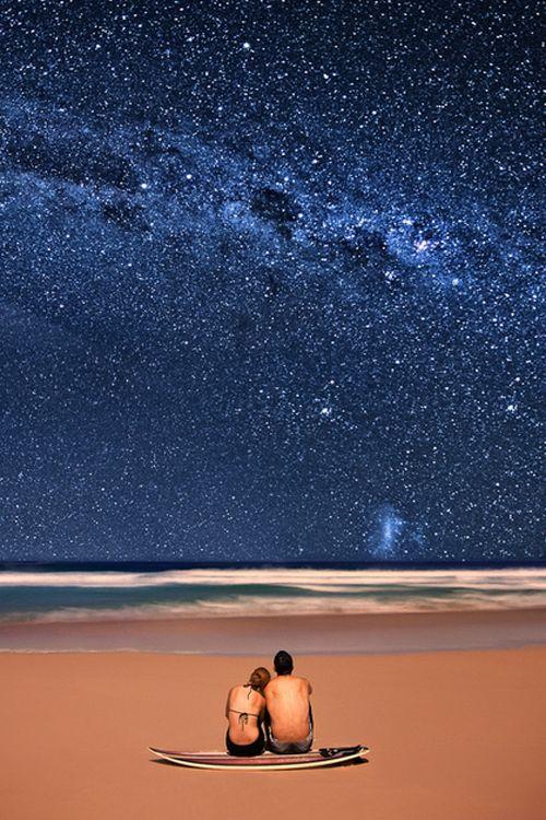 Milky way, Bluey's Beach Australia