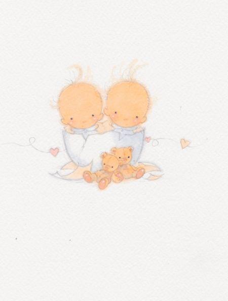 Annabel Spenceley - Eggshell Twins