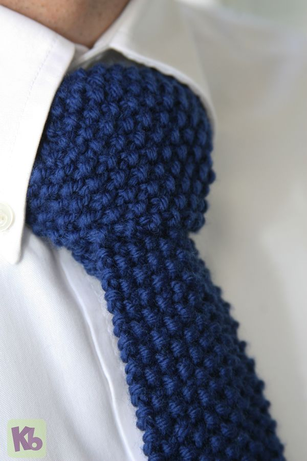 Loom Knit Father's Day Tie